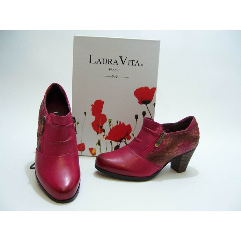Laura Vita Hochfrontpumps pink