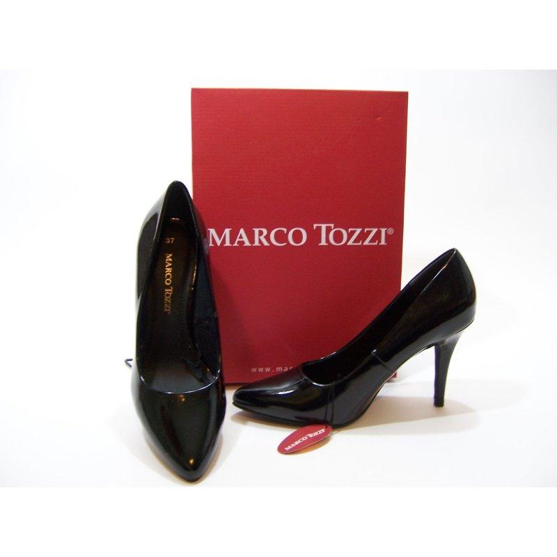 brand new 9051e 9cc0a Marco Tozzi High Heel schwarz Lack 10cm