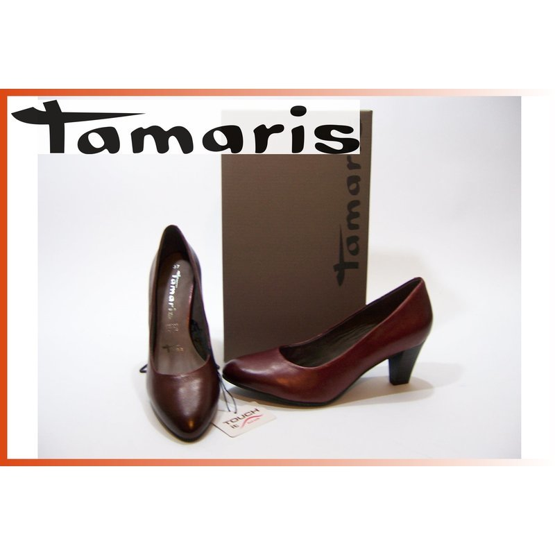 Tamaris Pumps bordaux 6,5cm