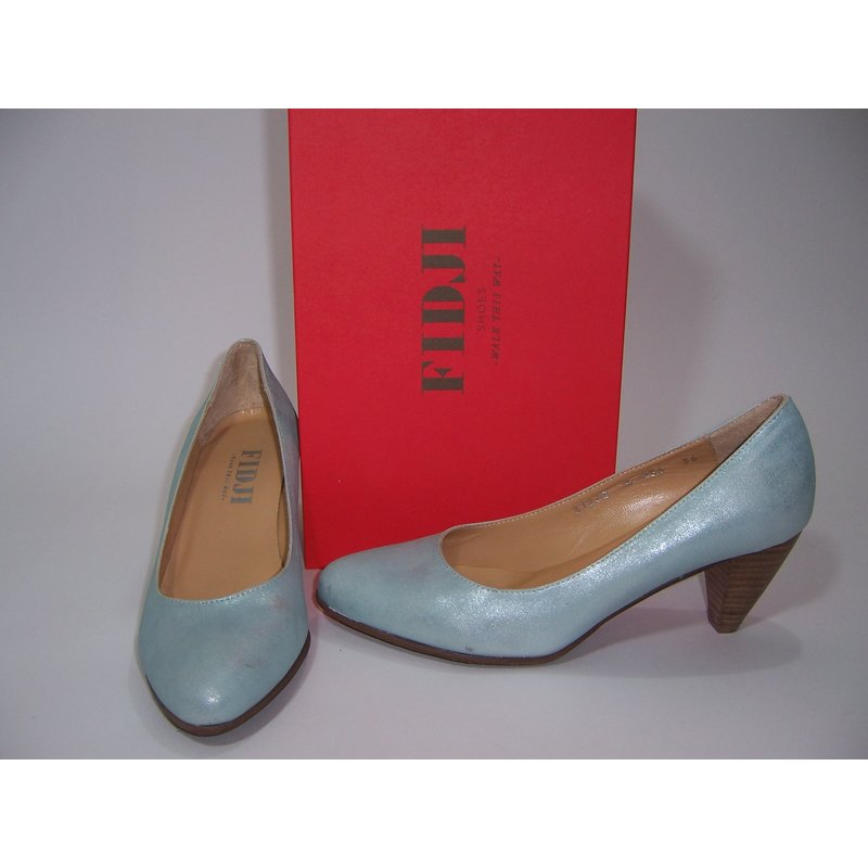 FIDJI Da.Pumps;5,5cm; mint metallic
