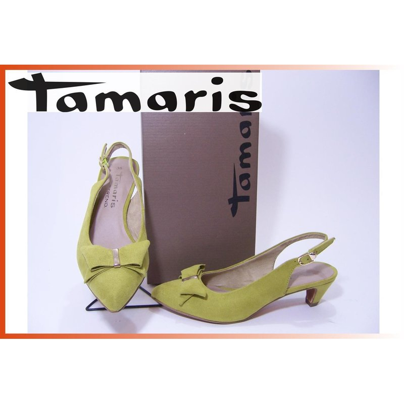 Pumps;5cm; Sling Tamaris Lime Lime Sling Tamaris Pumps;5cm; Tamaris dtsQhrCx