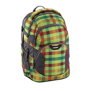 Coocazoo JobJobber2 Schulrucksack, Hip to be square green