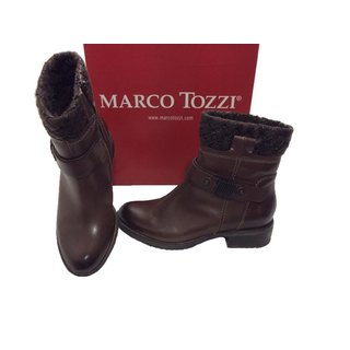MARCO TOZZI Stiefelette mocca antic