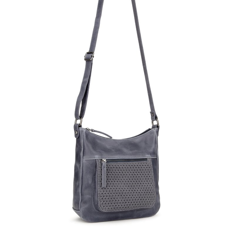963c02b634426 Eastline mittlere Reißverschluss Damentasche  blau