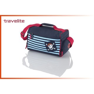 Travelite YOUNGSTER Piratenkinderreisetasche blau