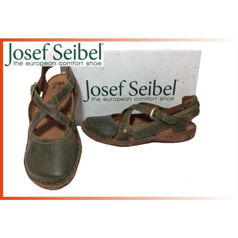 Josef Seibel Damen Ballerina Rosalie  Verse offen  oliv, 79,95 € cae9451bd5