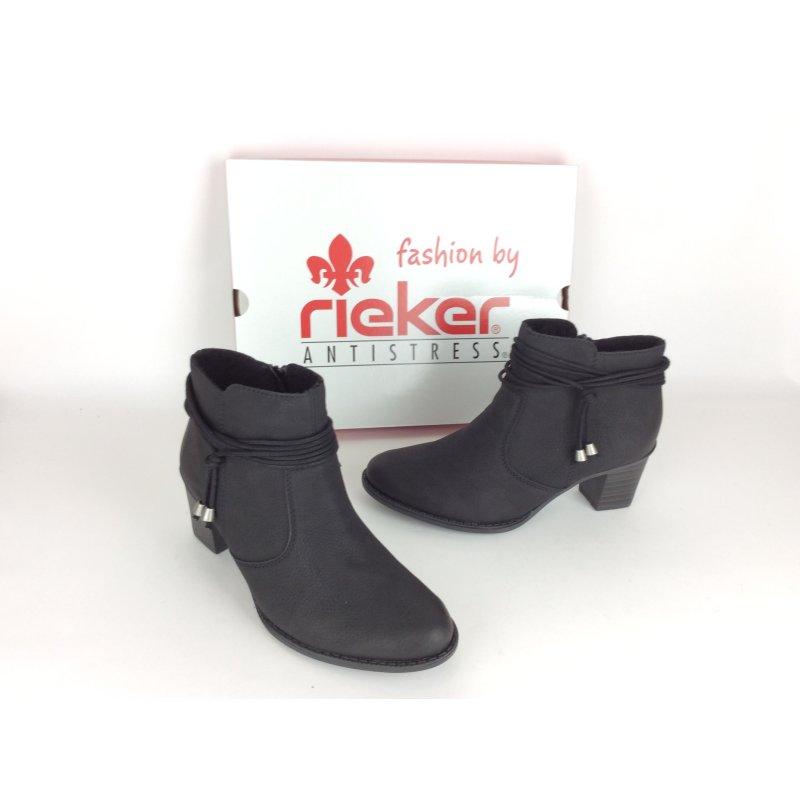 Rieker Stiefelette schwarz 40 Stiefelette | real