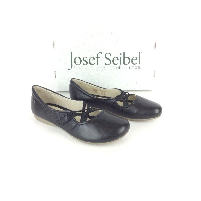 die beste Einstellung offizieller Preis bis zu 80% sparen Josef Seibel Damen Ballerina Fiona 39 schwarz