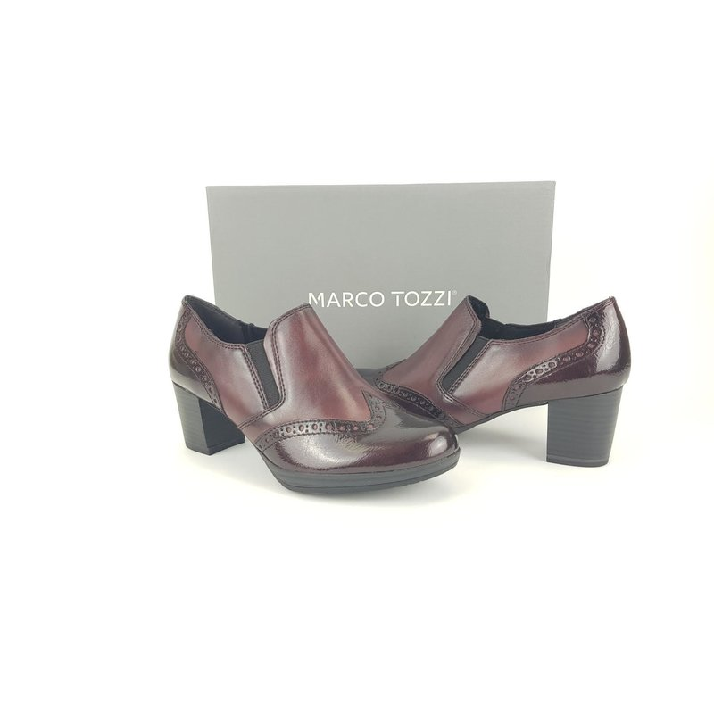 Marco Tozzi Hochfrontpumps bordaux